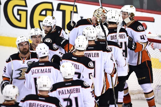 Calgary Flames at Anaheim Ducks- 5/10/15 NHL Pick, Odds, and Prediction