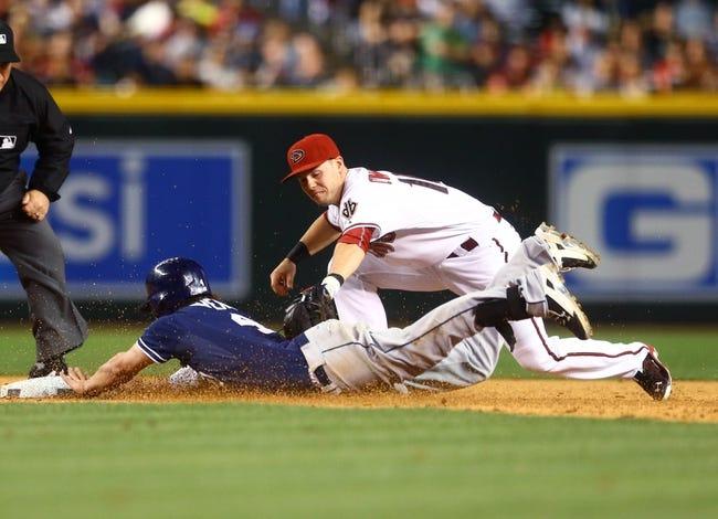 Diamondbacks vs. Padres - 5/10/15 MLB Pick, Odds, and Prediction