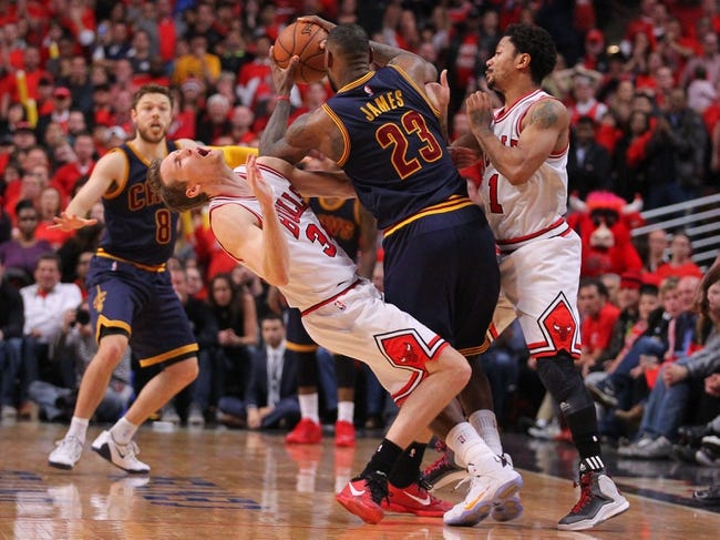 Cleveland Cavaliers vs. Chicago Bulls - 5/12/15 NBA Pick, Odds, and Prediction