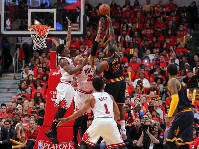 Bulls at Cavaliers - 5/12/15 NBA Pick, Odds, and Prediction