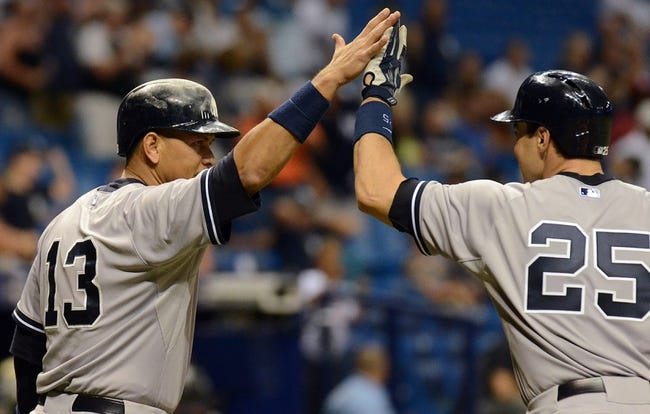 Rays vs. Yankees - 5/12/15 MLB Pick, Odds, and Prediction