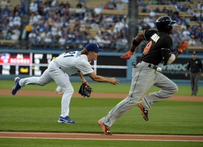 Marlins at Dodgers - 5/12/15 MLB Pick, Odds, and Prediction