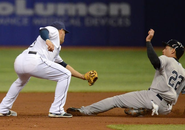 Rays vs. Yankees - 5/13/15 MLB Pick, Odds, and Prediction