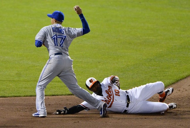 Baltimore Orioles vs. Toronto Blue Jays - 5/13/15 MLB Pick, Odds, and Prediction