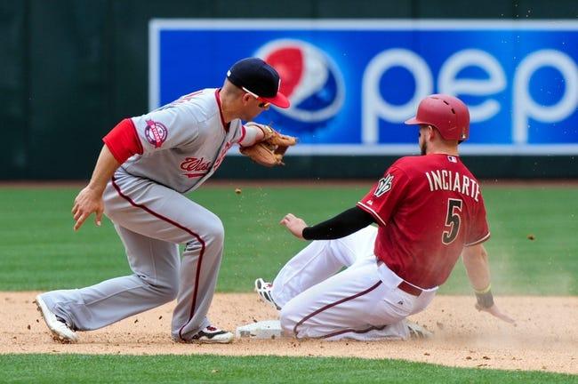 Washington Nationals vs. Arizona Diamondbacks - 8/3/15 MLB Pick, Odds, and Prediction