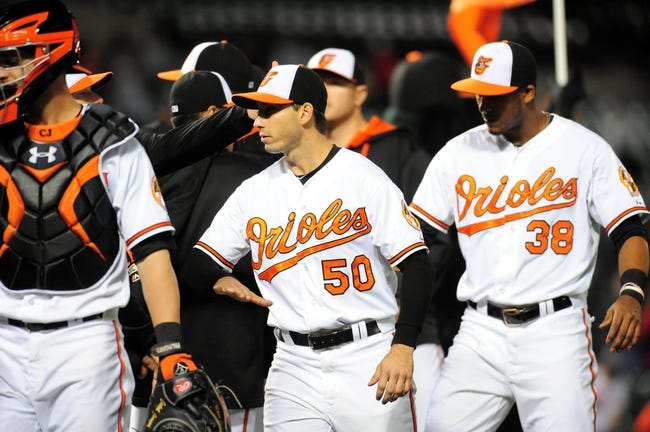 Orioles vs. Angels - 5/15/15 MLB Pick, Odds, and Prediction