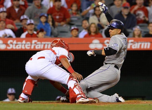 Colorado Rockies vs. Los Angeles Angels - 7/8/15 MLB Pick, Odds, and Prediction