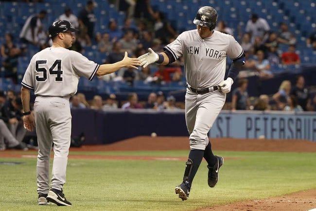 New York Yankees vs. Tampa Bay Rays - 7/3/15 MLB Pick, Odds, and Prediction