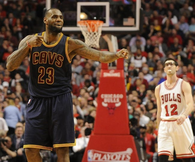 Chicago Bulls vs. Cleveland Cavaliers - 10/27/15 NBA Pick, Odds, and Prediction