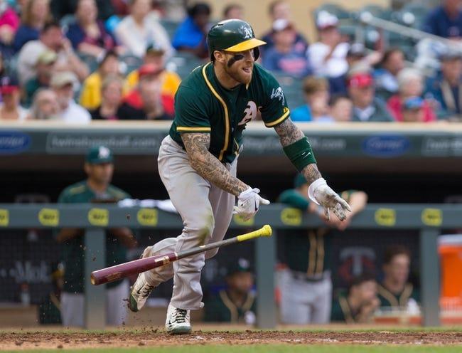 Athletics vs. Twins - 7/17/15 MLB Pick, Odds, and Prediction
