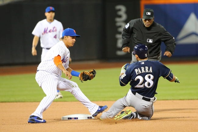 New York Mets vs. Milwaukee Brewers - 5/16/15 MLB Pick, Odds, and Prediction
