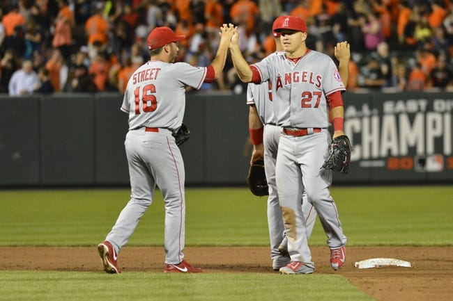 Orioles vs. Angels - 5/17/15 MLB Pick, Odds, and Prediction