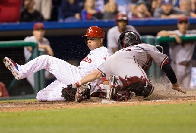 Philadelphia Phillies vs. Arizona Diamondbacks - 5/16/15 MLB Pick, Odds, and Prediction