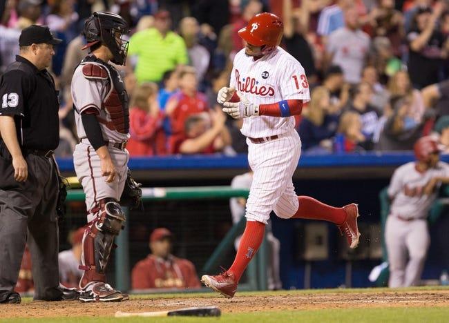 Philadelphia Phillies vs. Arizona Diamondbacks - 5/17/15 MLB Pick, Odds, and Prediction