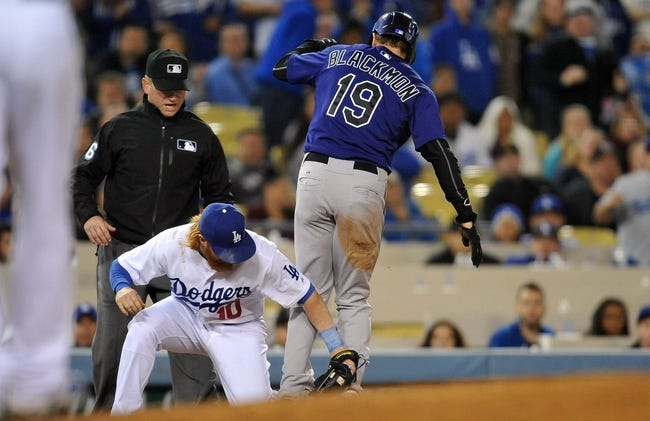 Colorado Rockies vs. Los Angeles Dodgers Game Two - 6/2/15 MLB Pick, Odds, and Prediction