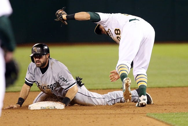 A's vs. White Sox - 5/16/15 MLB Pick, Odds, and Prediction