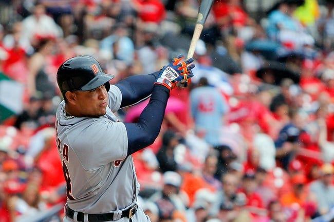 Tigers at Cardinals - 5/17/15 MLB Pick, Odds, and Prediction