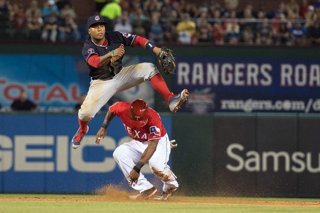 Texas Rangers vs. Cleveland Indians - 5/17/15 MLB Pick, Odds, and Prediction