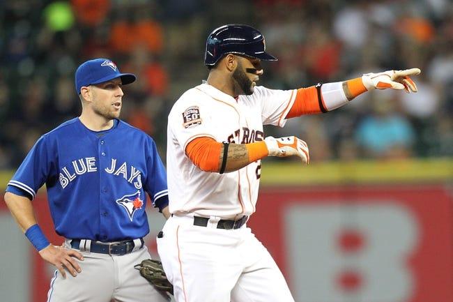 Toronto Blue Jays vs. Houston Astros - 6/5/15 MLB Pick, Odds, and Prediction