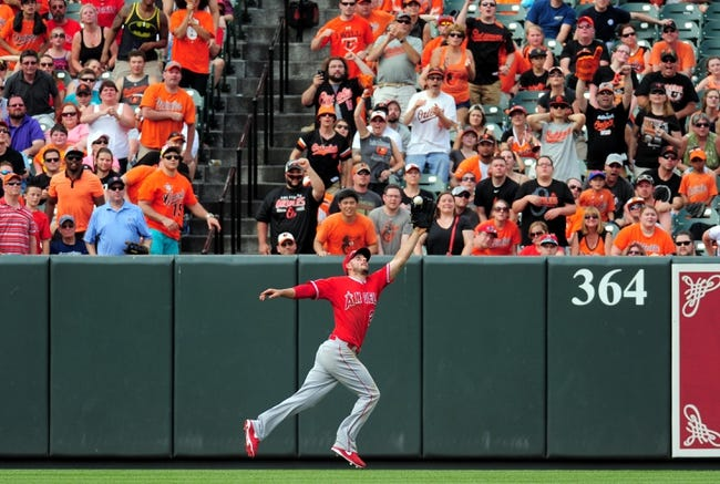 Los Angeles Angels vs. Baltimore Orioles - 8/7/15 MLB Pick, Odds, and Prediction