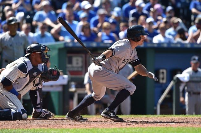 Royals at Yankees - 5/25/15 MLB Pick, Odds, and Prediction