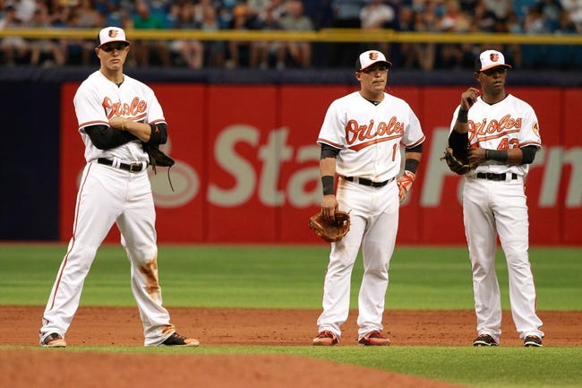 Rays at Orioles - 5/29/15 MLB Pick, Odds, and Prediction