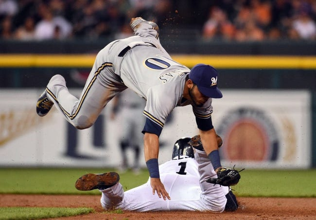Detroit Tigers vs. Milwaukee Brewers - 5/19/15 MLB Pick, Odds, and Prediction