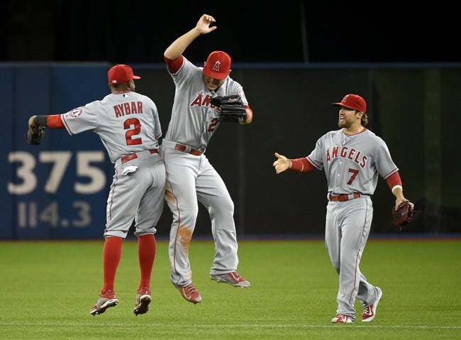 Toronto Blue Jays vs. Los Angeles Angels - 5/20/15 MLB Pick, Odds, and Prediction