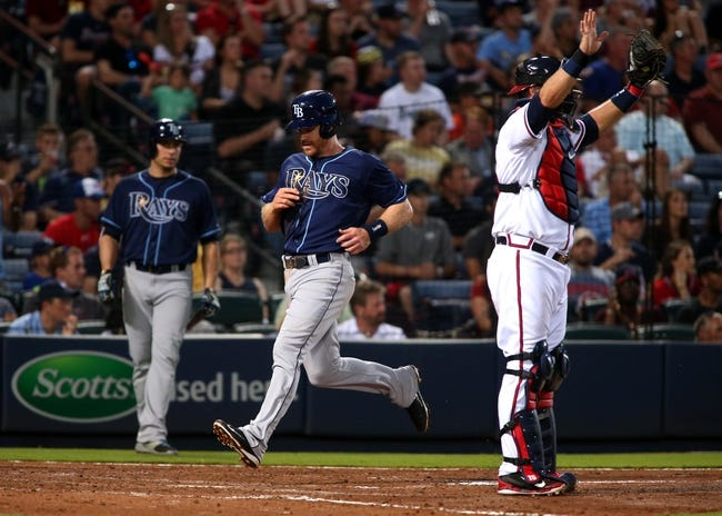 Rays vs. Braves - 8/11/15 MLB Pick, Odds, and Prediction