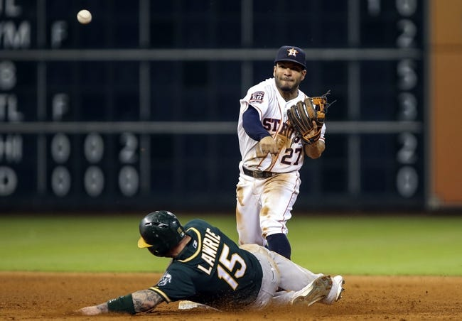 Houston Astros vs. Oakland Athletics - 5/20/15 MLB Pick, Odds, and Prediction