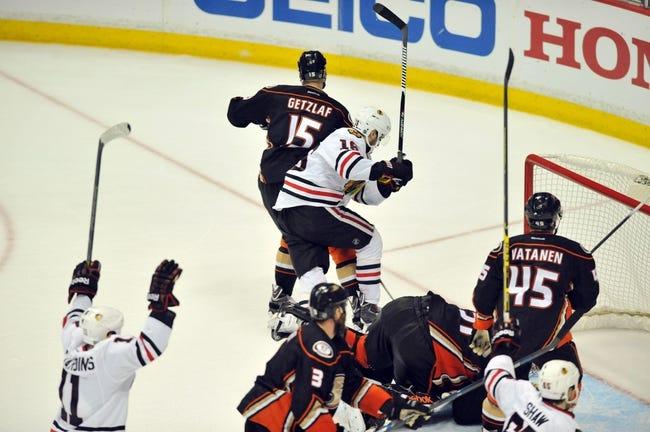 Anaheim Ducks at Chicago Blackhawks - 5/21/15 NHL Pick, Odds, and Prediction