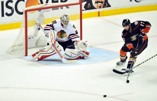 Chicago Blackhawks vs. Anaheim Ducks - 5/21/15 NHL Pick, Odds, and Prediction