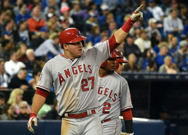 Toronto Blue Jays vs. Los Angeles Angels - 5/21/15 MLB Pick, Odds, and Prediction