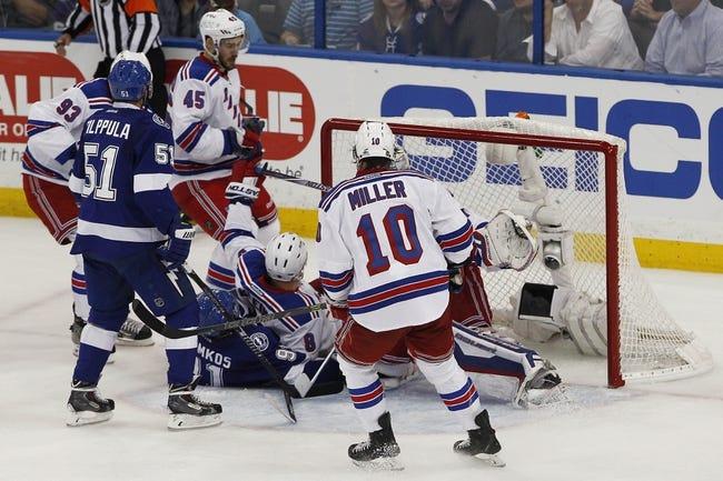 Tampa Bay Lightning vs. New York Rangers - 5/22/15 NHL Pick, Odds, and Prediction