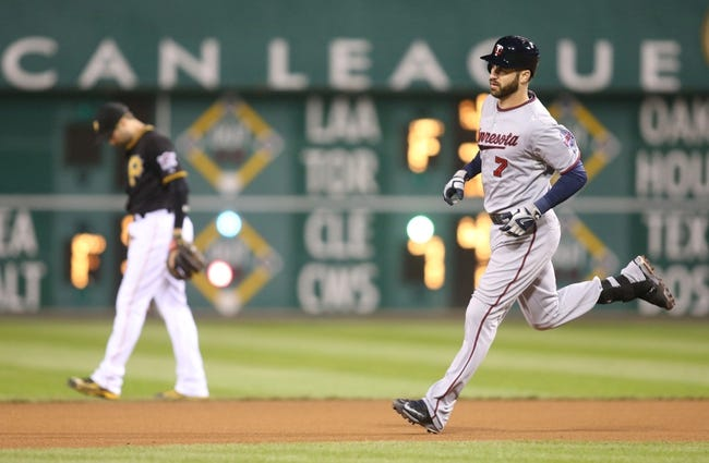 Pirates at Twins - 7/28/15 MLB Pick, Odds, and Prediction