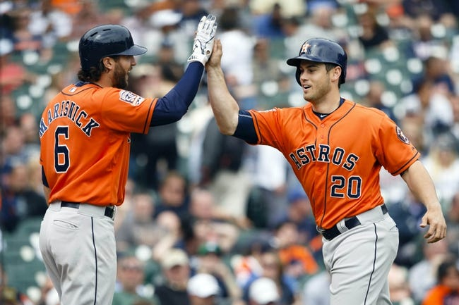 Tigers vs. Astros - 5/22/15 MLB Pick, Odds, and Prediction