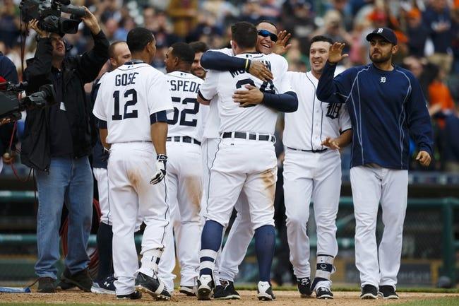 Tigers vs. Astros - 5/23/15 MLB Pick, Odds, and Prediction