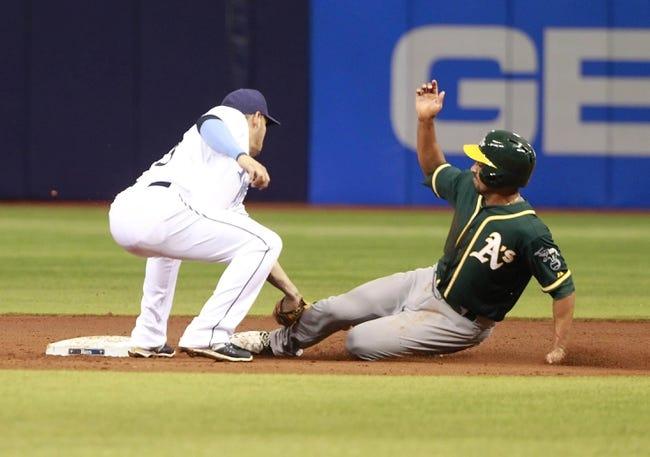 MLB | Oakland Athletics (14-30) at Tampa Bay Rays (24-19)