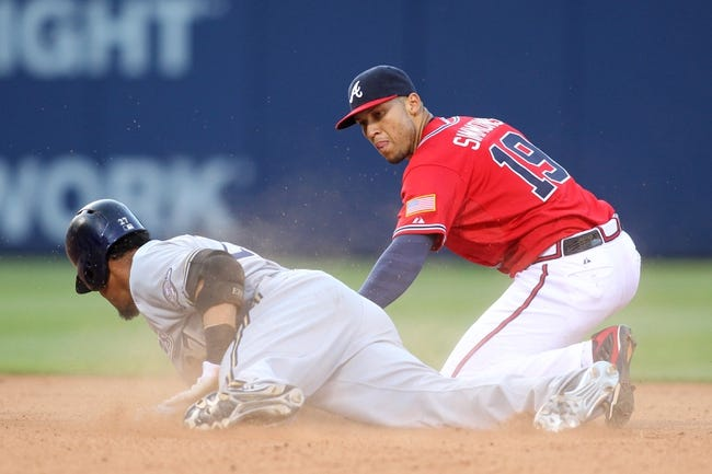 Braves vs. Brewers - 5/24/15 MLB Pick, Odds, and Prediction