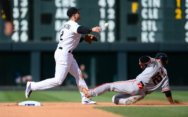 Colorado Rockies vs. San Francisco Giants - 5/24/15 MLB Pick, Odds, and Prediction
