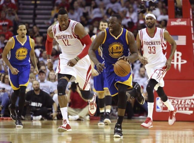 Warriors at Rockets - 5/25/15 NBA Pick, Odds, and Prediction