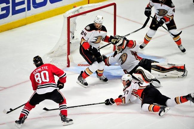 Anaheim Ducks vs. Chicago Blackhawks - 5/25/15 NHL Pick, Odds, and Prediction