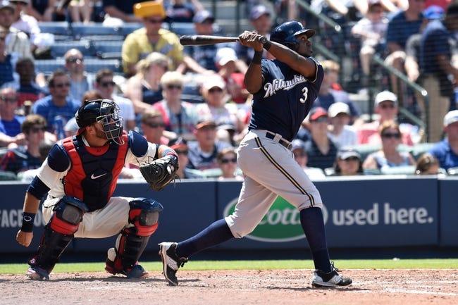 Atlanta Braves vs. Milwaukee Brewers - 5/24/16 MLB Pick, Odds, and Prediction