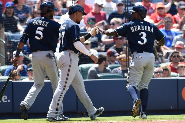 Milwaukee Brewers vs. Atlanta Braves - 7/7/15 MLB Pick, Odds, and Prediction