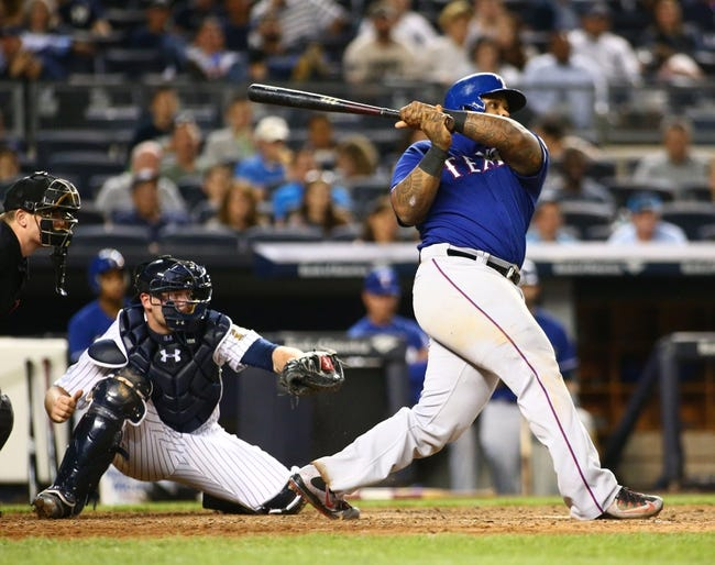 Rangers vs. Yankees - 7/27/15 MLB Pick, Odds, and Prediction