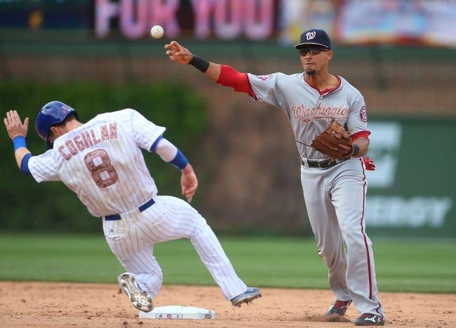 Nationals at Cubs - 5/26/15 MLB Pick, Odds, and Prediction