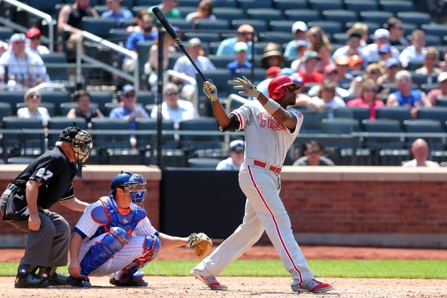 New York Mets vs. Philadelphia Phillies - 5/26/15 MLB Pick, Odds, and Prediction