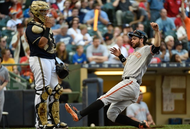Brewers vs. Giants - 5/26/15 MLB Pick, Odds, and Prediction