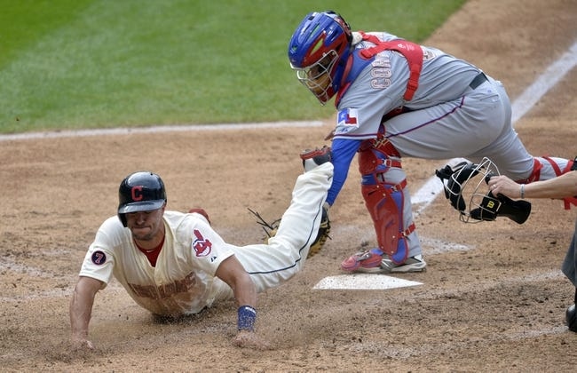 MLB | Texas Rangers (22-23) at Cleveland Indians (20-24)