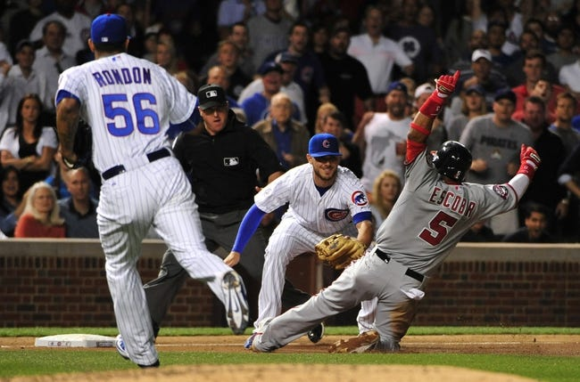 Nationals vs. Cubs - 6/4/15 MLB Pick, Odds, and Prediction